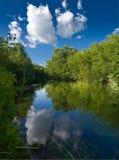 rzeka krajobrazowa Fotografia Royalty Free