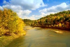 rzeka krajobrazowa Obraz Royalty Free