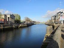 Rzeka Lee, korek, Irlandia zdjęcia royalty free