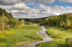 rzeka mała Zdjęcie Stock