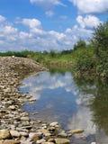 rzeka mała obraz royalty free