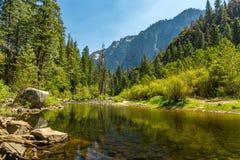 rzeka merced Yosemite doliny Zdjęcie Royalty Free