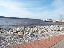 Rzeka Mississippi widok Obraz Stock