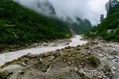 rzeka mountain bieżąca obraz royalty free