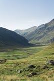 Aguas Tuertas dolina. Hiszpańszczyzny Pyrenees Zdjęcia Stock