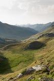 Aguas Tuertas dolina. Hiszpańszczyzny Pyrenees Fotografia Royalty Free
