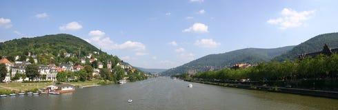 rzeka neckar Fotografia Royalty Free