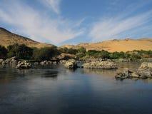 rzeka nilu Zdjęcia Stock