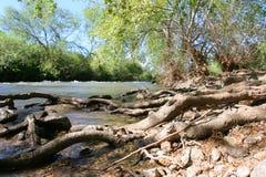rzeka obszarów wiejskich fotografia stock