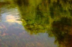 rzeka odbicia Zdjęcia Stock