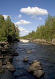 rzeka północnej Fotografia Stock