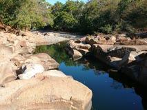 Rzeka piękna fotografia stock