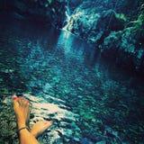 Rzeka piękna Obraz Royalty Free