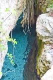 rzeka pod ziemią Obrazy Royalty Free