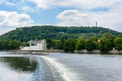 rzeka prague Vltava Zdjęcia Stock