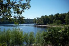 Rzeka Przegapia Zdjęcia Royalty Free