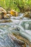 Rzeka przepływ fotografia stock