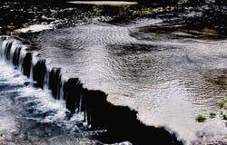 Rzeka przepływ Zdjęcie Stock