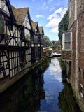 Rzeka przy Canterbury Obraz Stock