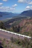 rzeka sceniczny wąwozu columbii widok Zdjęcia Royalty Free