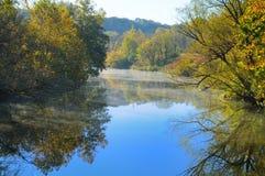 rzeka spokojna Obraz Royalty Free