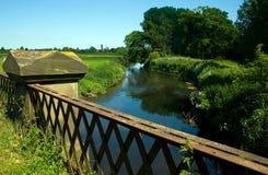 rzeka trent Zdjęcie Royalty Free