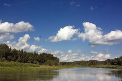rzeka ural Obraz Stock