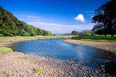 rzeka ure Zdjęcia Royalty Free