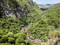 Rzeka w Chapada dos Veadeiros parku narodowym zdjęcia stock