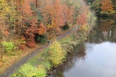 Rzeka w Durham, UK obrazy royalty free