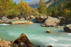 Rzeka w górach Zdjęcie Royalty Free
