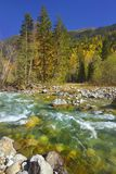 Rzeka w górach Zdjęcia Stock