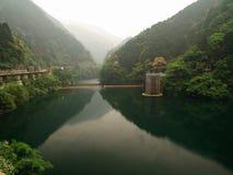 Rzeka w górach w Japonia Zdjęcia Royalty Free