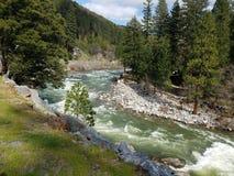 Rzeka w górze zdjęcia royalty free
