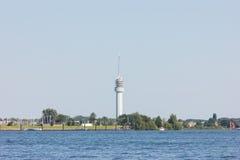 Rzeka w Holland natury wakacyjnym wakacje letni Obraz Stock
