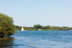Rzeka w Holland natury wakacyjnym wakacje letni Zdjęcie Royalty Free