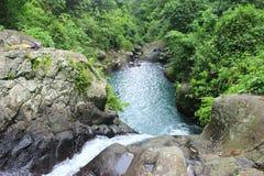 Rzeka w lombok obrazy stock