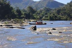 Rzeka w Madagascar Zdjęcia Stock