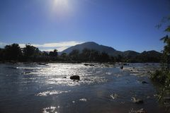 Rzeka w Madagascar Obrazy Stock
