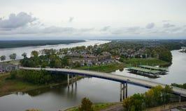 Rzeka w Memphis Obraz Royalty Free