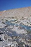 Rzeka w pustyni Obraz Royalty Free