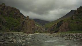 Rzeka w Skaftafell parku narodowym, Iceland zdjęcie stock