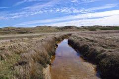 Rzeka w stepie Fotografia Stock