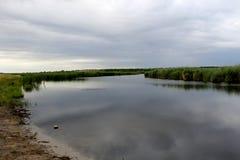 Rzeka w Ukraina Fotografia Royalty Free