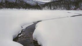 Rzeka w ural zdjęcie stock