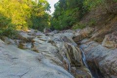 Rzeka w wietnamczyk dżungli Zdjęcia Royalty Free