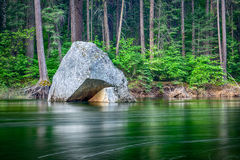 Rzeka w Yosemite parku narodowym Obraz Royalty Free