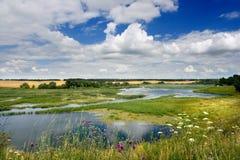 rzeka zamartinie Obrazy Royalty Free