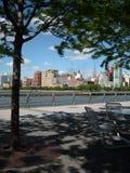 rzeki hudson nowego Jorku park Fotografia Stock