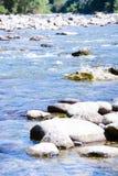 Rzeki i morza kamieni tło Obrazy Stock